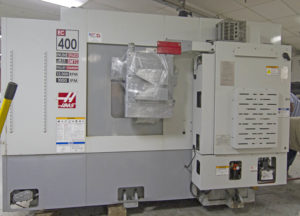 We have added another pallet CNC Mill to our CNC machining center